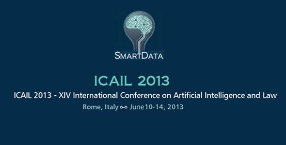 XIV ICAIL 2013. Martedi il saluto della Senatrice Rosa Maria Di Giorgi e del Presidente del CNR Prof. Luigi Nicolais