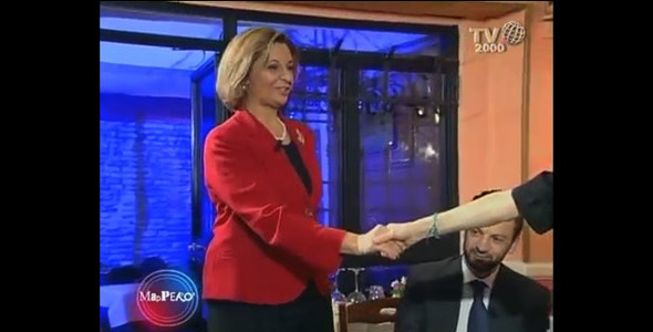 Mapperò (Tv2000), con senatrice Di Giorgi e sottosegretario Toccafondi