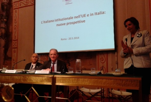 """""""L'italiano istituzionale nell'Ue e in Italia: nuove prospettive"""""""