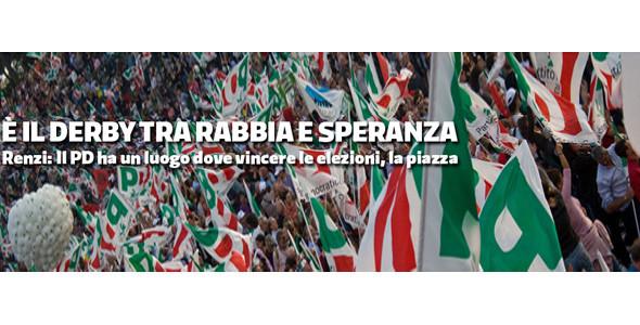 L'Italia sta cambiando verso. Ora tocca all'Europa