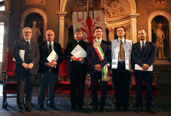 Firenze. Cerimonia di consegna del fiorino d'oro