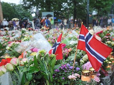 Anniversario strage Oslo e Utoya