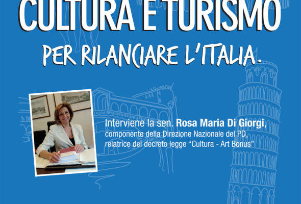 """A Castelbuono """"Cultura e turismo. Per rilanciare l'Italia"""""""
