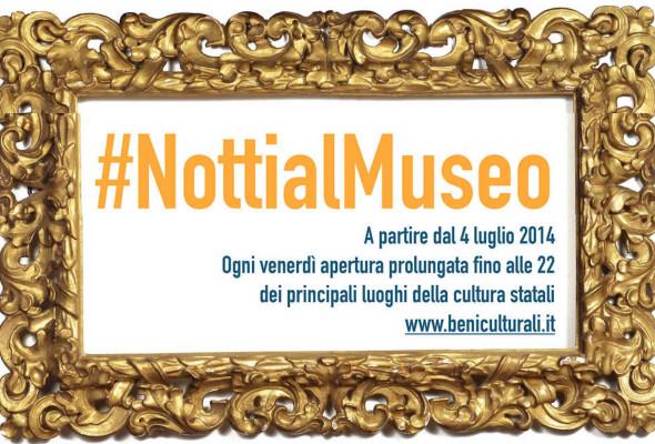 Notti al Museo, domani, venerdì 12 settembre