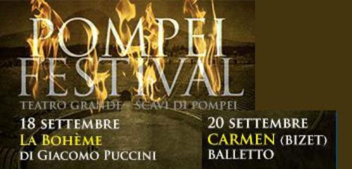 Pompei Festival 2014 il Teatro Grande riaperto dopo 2000 anni #ArtBonus