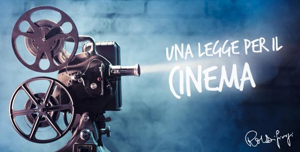 """La mia legge sul cinema arriva su """"Cinecritica"""""""