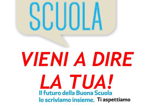 """Incontro a Signa su """"La Buona Scuola"""""""