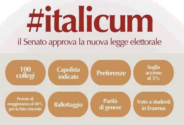 Italicum. Il Senato approva la nuova legge elettorale