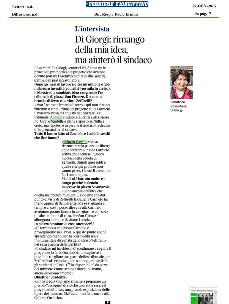 IntervistaCorr_zeffirelli