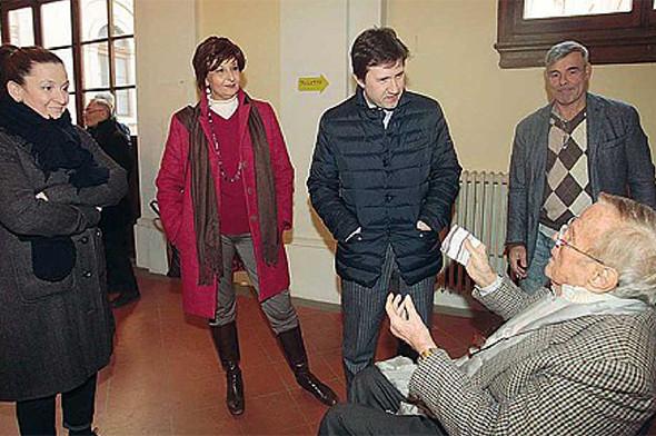 """Archivio Zeffirelli. """"Rimango della mia idea, ma aiuterò il Sindaco"""""""