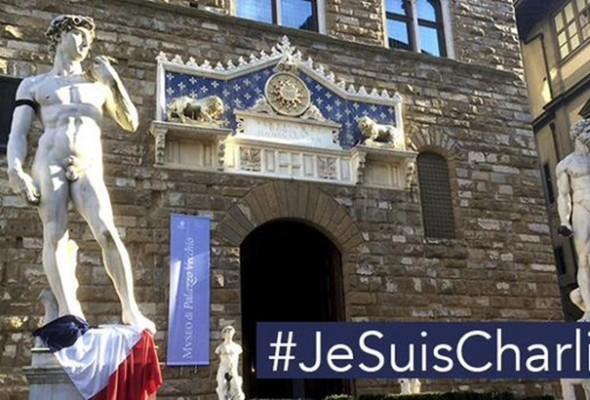 Firenze, Fiaccolata di solidarietà