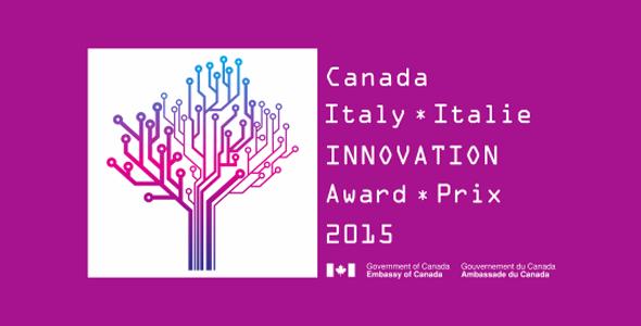 Premio Canada-Italia per l'Innovazione 2015