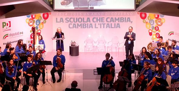 """Interventi """"La scuola che cambia, cambia l'italia"""""""