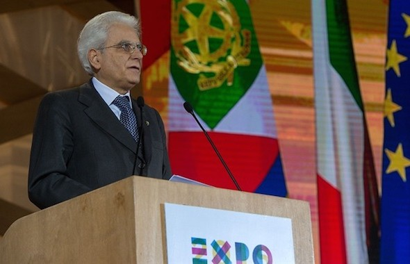 """L'intervento del Presidente Mattarella a """"Italia 2015: il Paese nell'anno dell'Expo"""""""