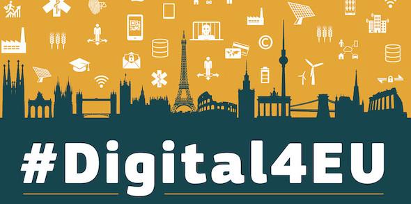 #Digital4EU: Europa e Mercato Digitale