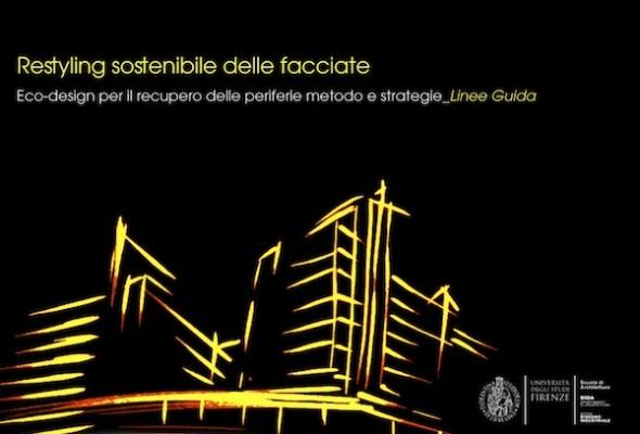 Firenze, presentazione del progetto di restyling sostenibile delle facciate