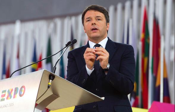 Expo 2015, intervento del Presidente Renzi alla cerimonia di apertura