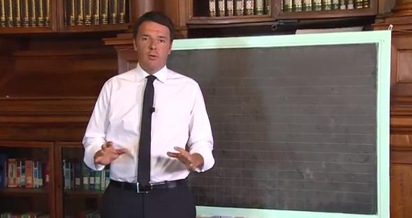 Renzi spiega #laBuonaScuola