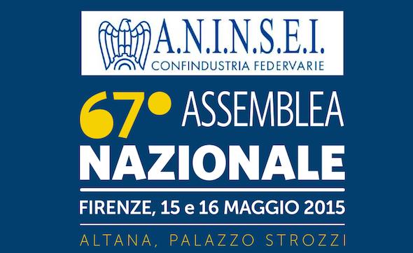 Firenze 15-16 maggio: 67a Assemblea Nazionale ANINSEI