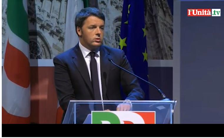Renzi_intervento assemblea Pd