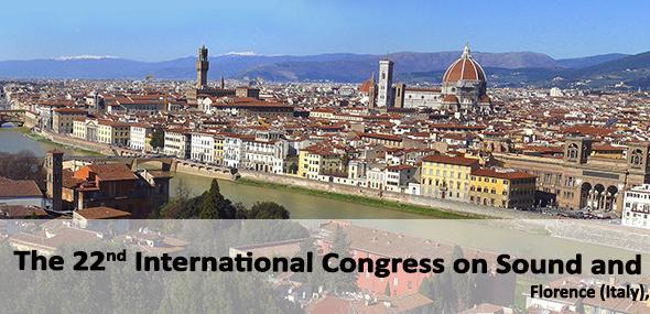 22° Congresso Internazionale del Suono e delle Vibrazioni