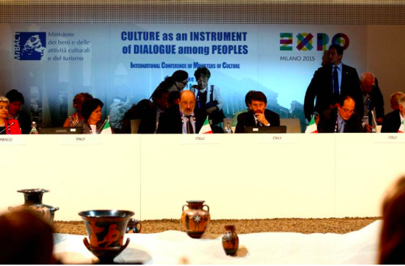 EXPO 2015, intervento di Umberto Eco alla Conferenza Internazionale dei Ministri della Cultura