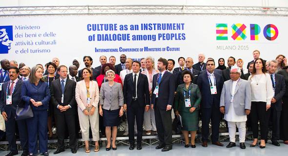 #Renzi alla Conferenza internazionale dei Ministri della #Cultura