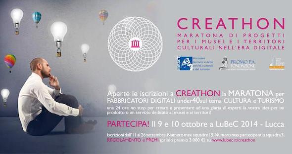 Creathon 2015: II edizione del concorso di creatività