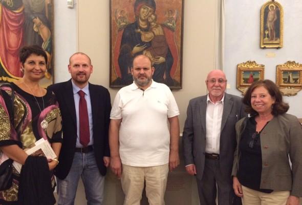 """Inaugurazione della mostra """"Trasfigurazione – Arte sacra Contemporanea"""""""