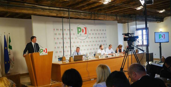 L'intervento di Matteo Renzi alla direzione nazionale Pd