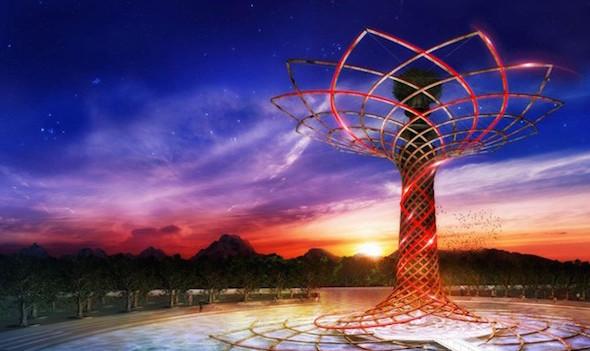 31 ottobre, cerimonia di chiusura di Expo