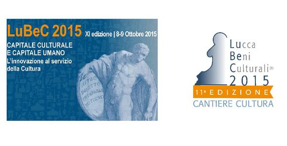 8-9 ottobre 2015, XI edizione del Lubec – Lucca beni culturali