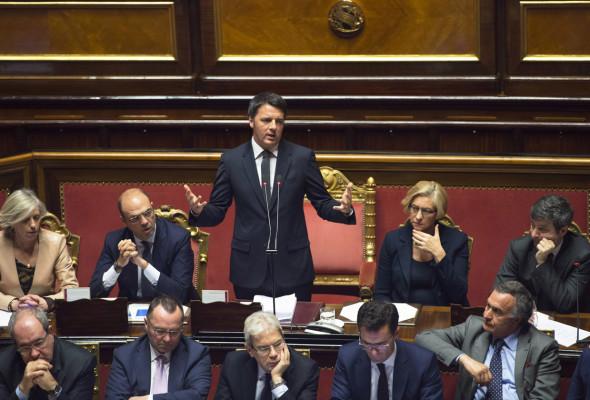 Informativa del Premier Renzi in Senato in vista del Consiglio Europeo