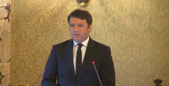 """Il discorso del Premier #Renzi alla Conferenza """"Scienza, Cultura e Arte: il ruolo dell'Italia"""""""