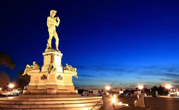 Firenze, Piazzale Michelangelo rinasce grazie all'Art Bonus