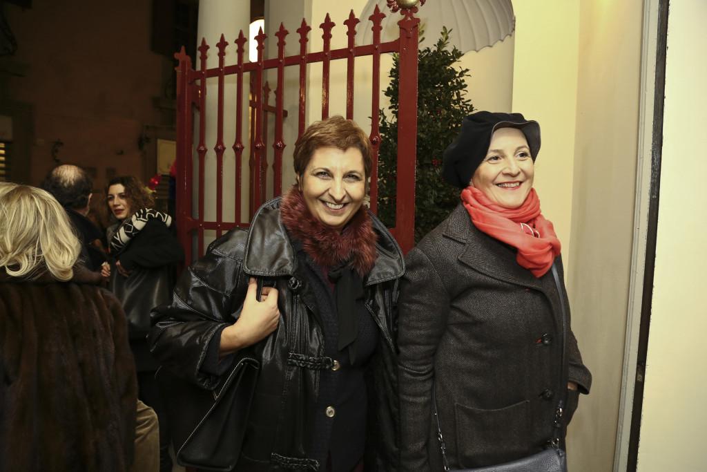 Cristina Giachi e Rosa di Giorgi
