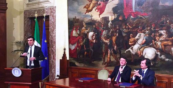 """""""Diamo credito all'agroalimentare italiano"""", firmato protocollo d'intesa a Palazzo Chigi"""