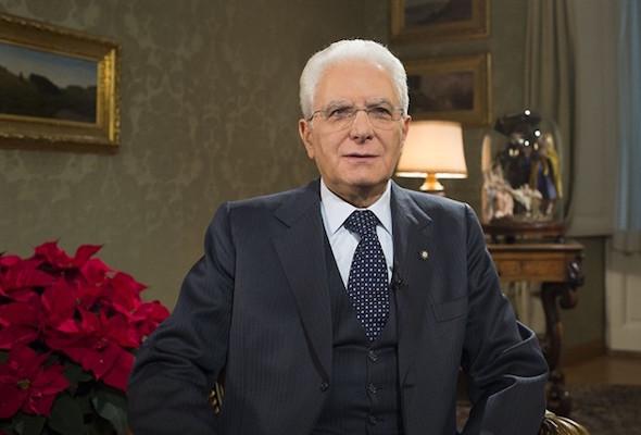 Il messaggio di fine anno del Presidente della Repubblica Sergio Mattarella