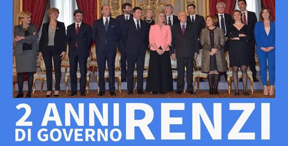 22 febbraio 2014 – 22 febbraio 2016: due anni di Governo Renzi