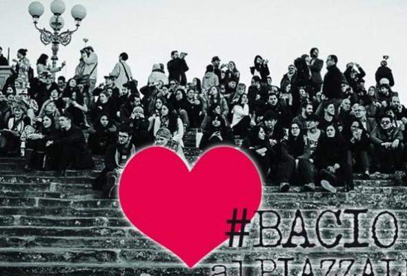 Firenze, Bacio al Piazzale per festeggiare San Valentino