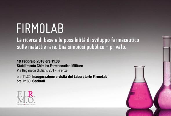 Firenze, inaugurazione del Laboratorio della FIRMO nello stabilimento Farmaceutico Militare