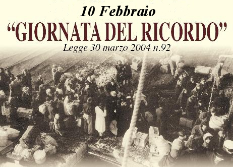10 Febbraio, Giorno del Ricordo