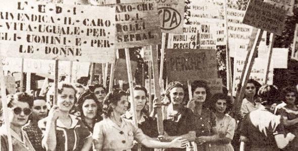 70esimo anniversario del voto alle donne: sottoscrizione della mozione della Senatrice Valeria Fedeli