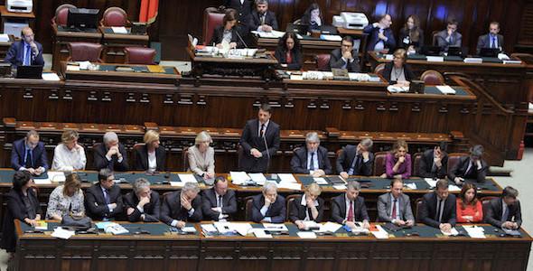 L'intervento del Premier Renzi alla Camera