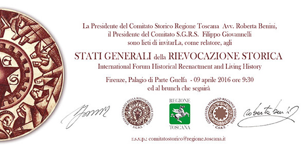 Firenze, Stati Generali della Rievocazione Storica
