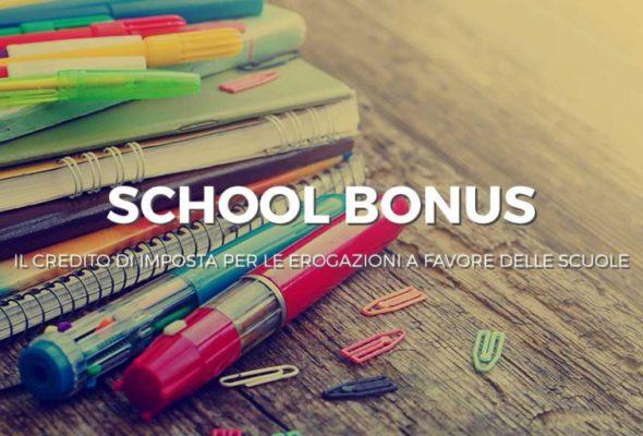 #SchoolBonus, credito d'imposta per chi fa donazioni alle scuole