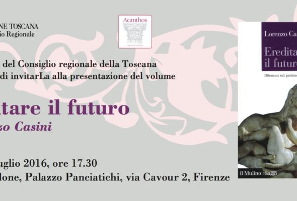 """Presentazione del libro """"Ereditare il futuro"""", di Lorenzo Casini"""