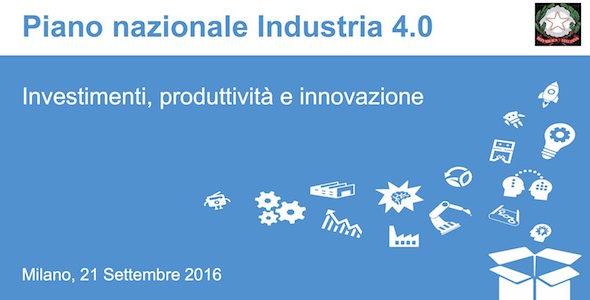 Industria 4.0, presentato il Piano Nazionale