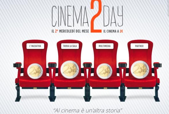 Dal 14 settembre, ogni secondo mercoledì del mese, al cinema con 2 euro