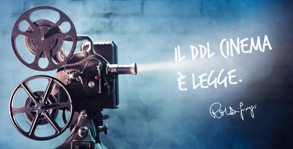 Legge sul Cinema. In arrivo i decreti attuativi